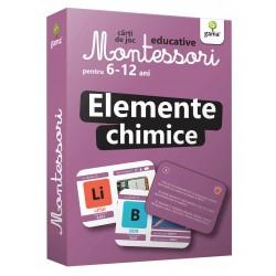 Elemente Chimice Carti de joc Montessori pentru 6-12 ani.