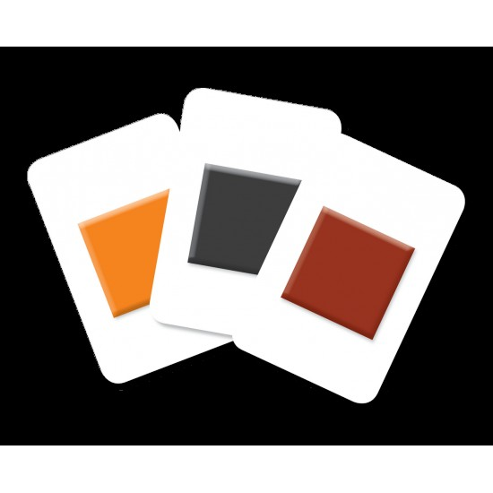 Carti de joc Montessori EduCard JuniorPlus - Forme si Culori
