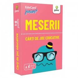 Carti de joc Montessori EduCard JuniorPlus  - Meserii