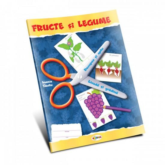 Mapa - Fructe si legume - Decupez si aplic