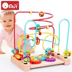 Labirint Cu Bile din lemn  Joc dexteritate de tip Circuit
