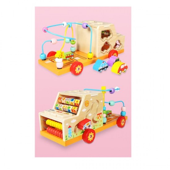 Camionul din lemn multifunctional