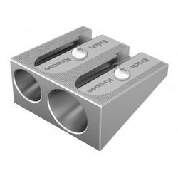 Ascuțitoare dublă din aluminiu