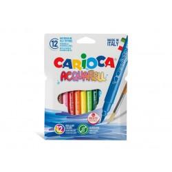 Carioca Acquarell 12 culori Carioca