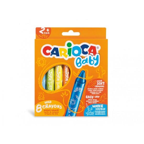 Creioane cerate Wild Carioca Baby 2 ani+