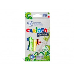 Carioca pentru textile Fabric 6/set