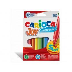 Carioca Joy - super lavabil Set 12 culori diferite