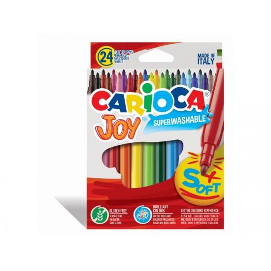Carioca Joy - super lavabil Set 24 culori diferite