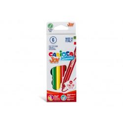 Carioca Joy - super lavabil Set 6 culori diferite