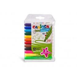 Carioca Mini super lavabila - set 10 culori diferite