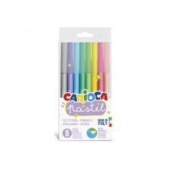 Carioca Pastel 8 culori/cutie