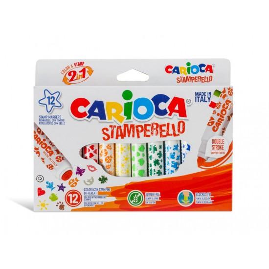 Carioca Stamperello 12culori/cutie