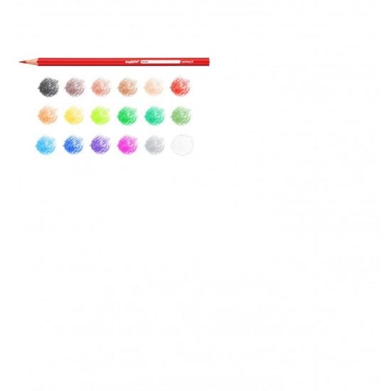 Creioane color Carioca Set 18 culori/cutie
