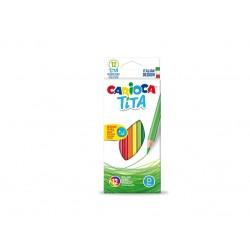 Creioane color Tita  Set 12 culori/cutie