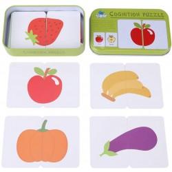 Puzzle cognitiv Fructe