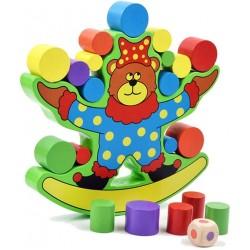 Joc educativ de echilibru Ursuletul
