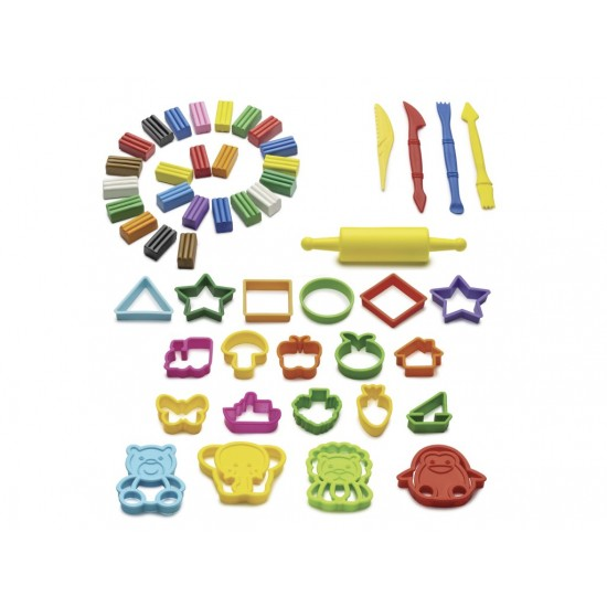 Plastilină Carioca Plasty Special cu Accesorii incluse