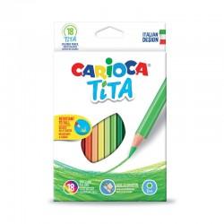 Creioane color Tita Set 18 culori/cutie