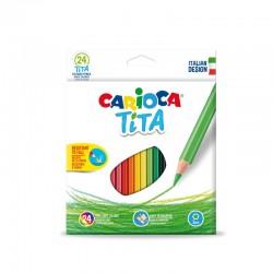 Creioane color Tita Set 24 culori/cutie