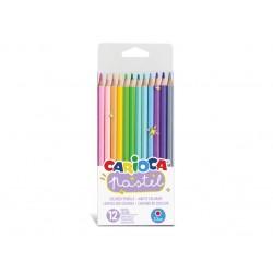 Creioane color Carioca Pastel 12/set