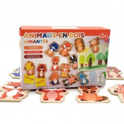 Puzzle 12 Animalute magnetice
