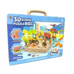 Trusa scule 3D Puzzle Box  331pcs