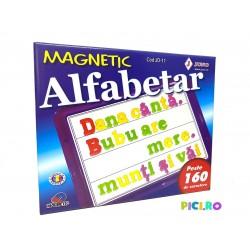 Alfabetar Magnetic 160 piese