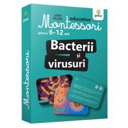 Bacterii si Virusuri  Carti de joc Montessori pentru 6-12 ani.