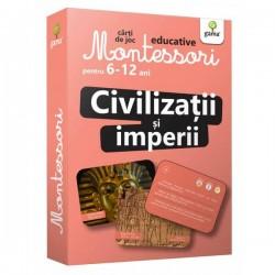 Civilizatii si Imperii Carti de joc Montessori pentru 6-12 ani.