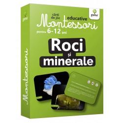 Roci si Minerale  Carti de joc Montessori pentru 6-12 ani.