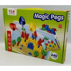 Joc Mozaic Magic Pegs 240 piese