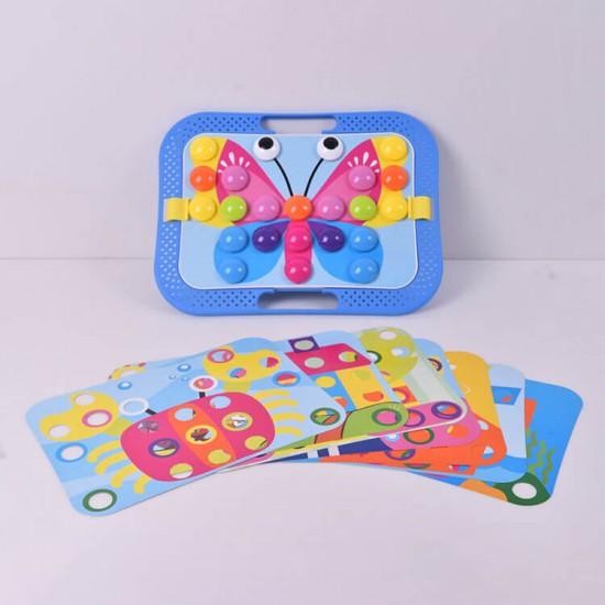 Joc mozaic multicolor pentru copii