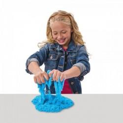 Nisip Kinetic Albastru cu 8 forme