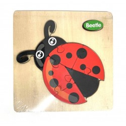 Puzzle 3D din lemn Beetle Gargarita