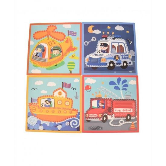 Set de desenat 5 Vehicule