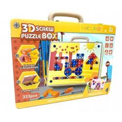 Trusa scule 3D Puzzle Box  333pcs
