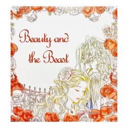 Carte de colorat Beauty an the Beast