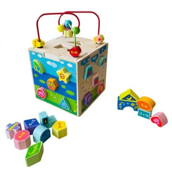 Cub educativ 5 in 1 Love Play