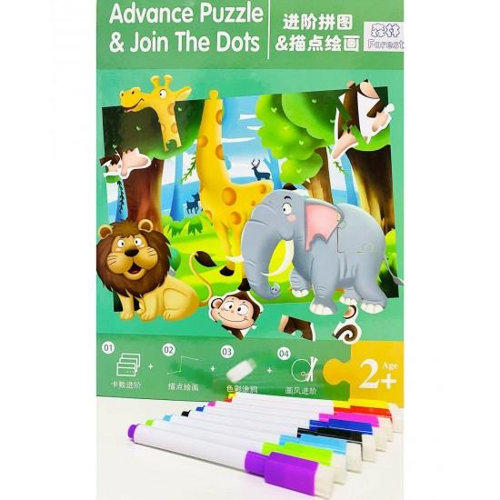 Advance Puzzle Magnetic Jugle