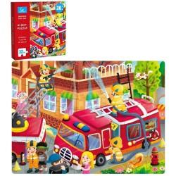 Puzzle 32 piese Eroii Pompieri