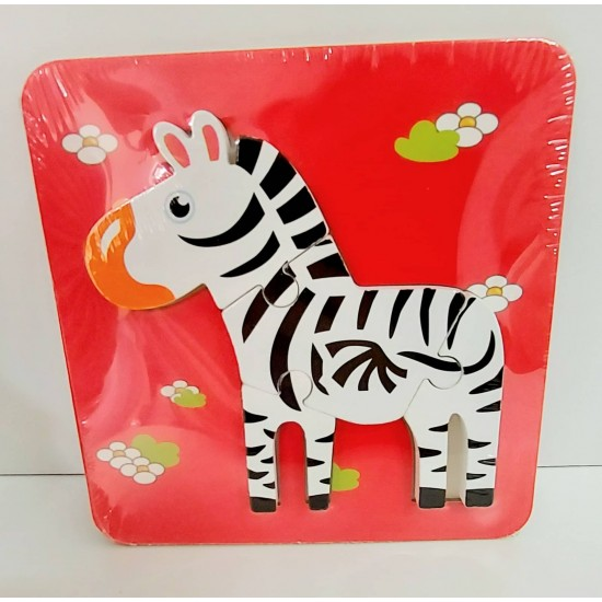 Puzzle Zebra 3D