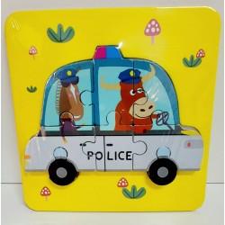 Puzzle Maina de politie 3D
