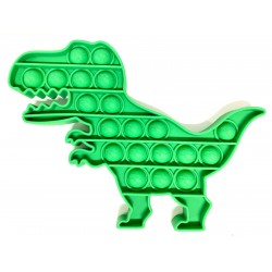 Pop it Antistres din silicon Dino Verde