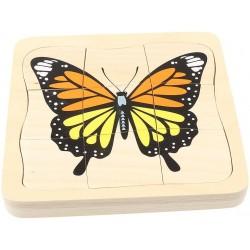 Puzzle evolutiv Fluture