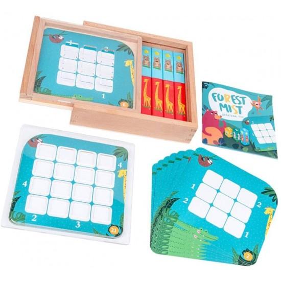 Joc lemn - Sudoku Forest Mist