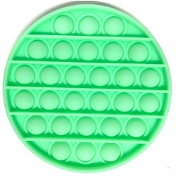 Pop it Antistres din silicon Fosforescent Cerc Verde