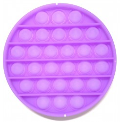 Pop it Antistres din silicon Fosforescent Cerc Mov