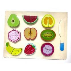 Fructe din lemn de feliat