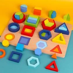Joc de stivuire Forme Geometrice si Partile Intregului
