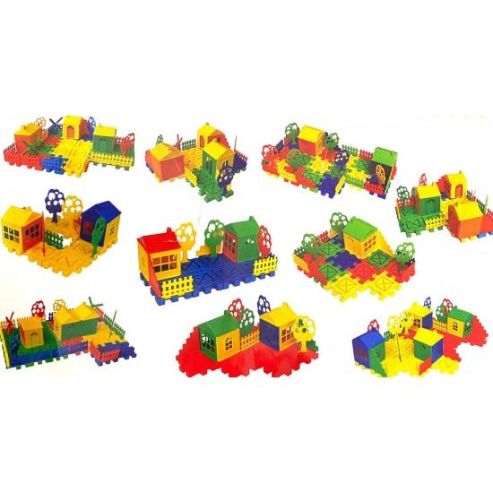 Joc de imaginatie Educativ Oraselul Vesel